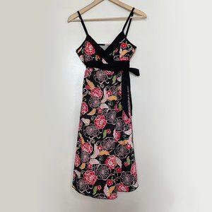 Scott Floral Wrap Dress
